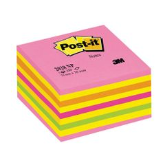 Cub-notite-adezive-3M-Post-it-Lolipop-450-file-culori-neon