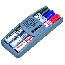 Kit-burete-cu-3-markere-Bi-Silque-pe-suport