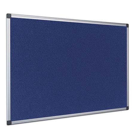 Panou-textil-Bi-Silque-rama-din-aluminiu-90-x-120-cm-albastru