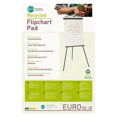 Hartie-pentru-flipchart-Bi-Silque-reciclata-100-x-65-cm-alba-50-coli-top