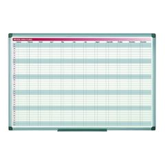 Planner-magnetic-anual-Bi-Silque-saptamani-luni-rama-din-aluminiu-60-x-90cm