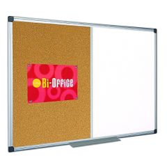 Panou-de-prezentare-Bi-Silque-Combo-rama-din-aluminiu-90-x-120-cm