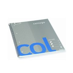 Caiet-Bantex-College-A4-cu-spira-70-file-dictando