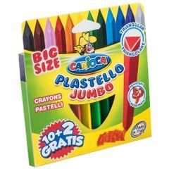 Set-creioane-colorate-Carioca-Jumbo-triunghiulare-12-bucati
