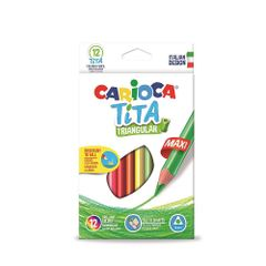 Set-creioane-colorate-Carioca-Tita-Maxi-triunghiulare-6-bucati