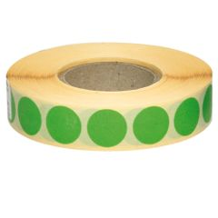 Etichete-autoadezive-rotunde-18-mm-verde-2110-bucati-rola