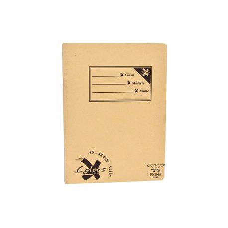 Caiet-Pigna-Basic-A5-48-file-veline