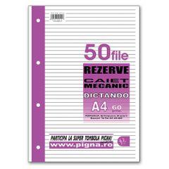 Rezerva-caiet-mecanic-Pigna-A4-50-file-dictando