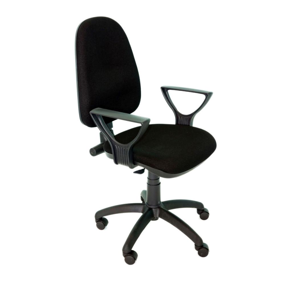Scaun ergonomic Violeta B stofa negru