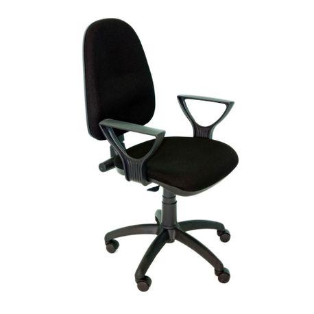 Scaun-ergonomic-Gold-IX-stofa-negru