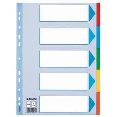 Separator-din-carton-Esselte-A4-5-taste