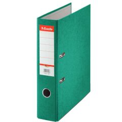 Biblioraft-Esselte-Rainbow-7.5-cm-verde