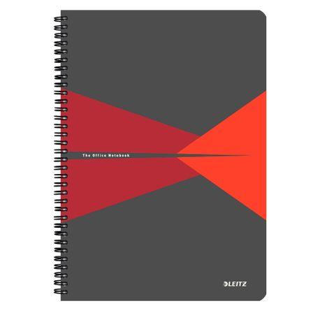 Caiet-de-birou-Leitz-Office-A5-carton-cu-spira-90-file-matematica-rosu