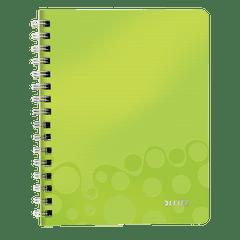 Caiet-de-birou-Leitz-WOW-coperta-PP-A5-cu-spira-80-file-matematica-verde-metalizat