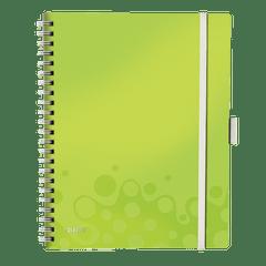 Caiet-de-birou-Leitz-WOW-Be-Mobile-coperta-PP-A4-cu-spira-80-file-matematica-verde-metalizat