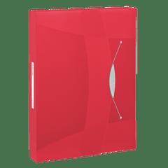 Mapa-plastic-Esselte-VIVIDA-Jumbo-prindere-cu-elastic-rosu