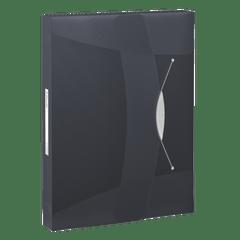 Mapa-plastic-Esselte-VIVIDA-Jumbo-prindere-cu-elastic-negru