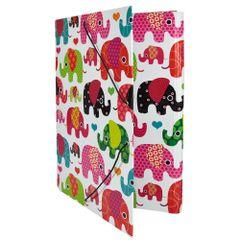 Mapa-carton-Elephants-inchidere-cu-elastic