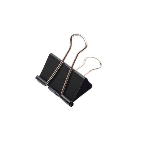 Clipsuri-metalice-Memoris-41-mm-negru-12-bucati-set