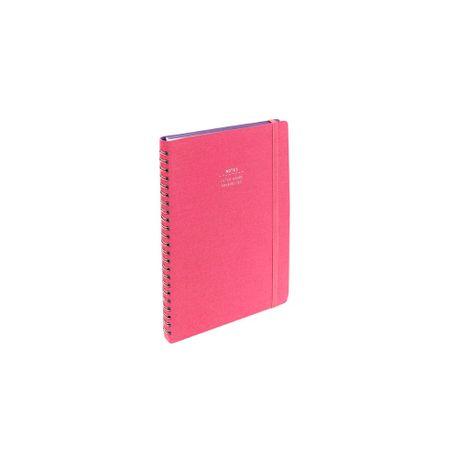 Notes-Nava-Everything-Sakura-A5-cu-spira--roz