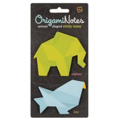 Notes-adeziv-Origami-elefant-si-pasare