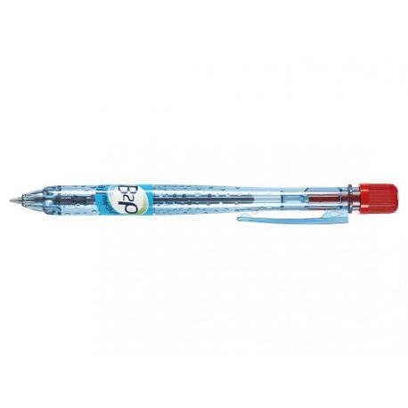 Pix-cu-bila-Pilot-Begreen-B2P-retractabil-0.9-mm-rosu
