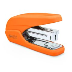 Capsator-plastic-Rapesco-X5-25ps-25-coli-portocaliu