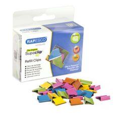 Clipsuri-metalice-Rapesco-Supaclip-40-coli-diverse-culori-150-de-bucati-set