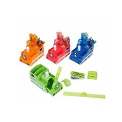 Suport-instrumente-de-scris-Roymart-locomotiva-diverse-culori