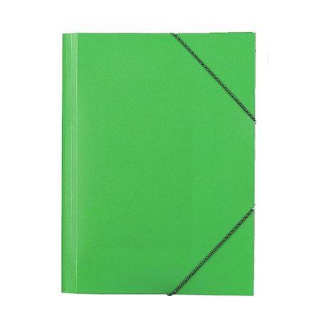 Mapa-plastic-Skag-inchidere-cu-elastic-verde