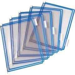 Folie-pentru-sistem-de-prezentare-Tarifold-A4-albastru-10-bucati-set
