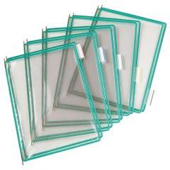 Folie-pentru-sistem-de-prezentare-Tarifold-A4-verde-10-bucati-set