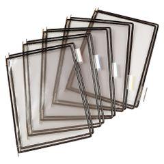 Folie-pentru-sistem-de-prezentare-Tarifold-A4-negru-10-bucati-set