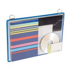 Display-Tarifold-A4-orizontal-cu-buzunar-PVC-5-bucati-set-albastre