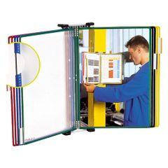 Sistem-de-prezentare-Tarifold-pentru-perete-A5-culori-asortate-10-display-uri