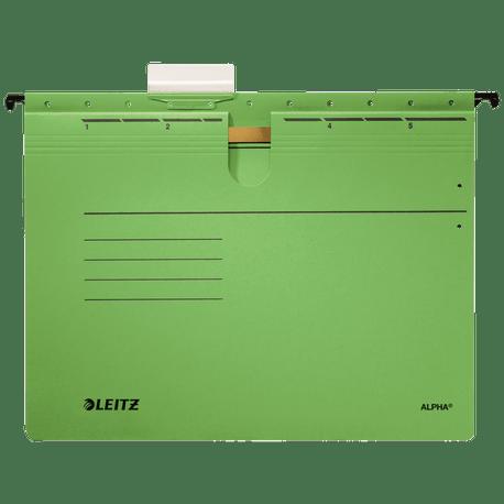 Dosar-suspendabil-Leitz-Alpha-cu-sina-verde