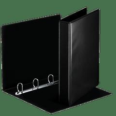 Caiet-mecanic-Esselte-Panorama-A4-mecanism-4DR-inel-30-mm-negru