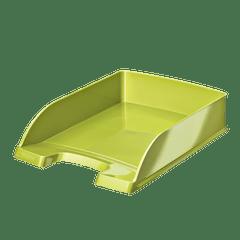 Tavita-documente-Leitz-WOW-verde-metalizat