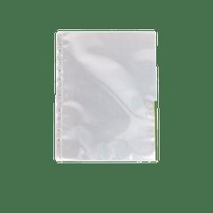 Folie-de-protectie-Esselte-deschidere-superior-si-lateral-dreapta-A4-cristal-105-microni-cu-margine-color-verde-100-bucatiset