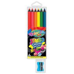 Set-creioane-colorate-si-ascutitoare-Jumbo-Colorino-6-bucati