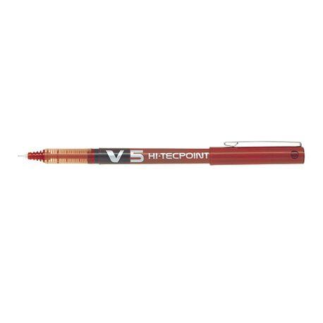 Roller-Pilot-V5-Hi-Tecpoint-0.5-mm-rosu