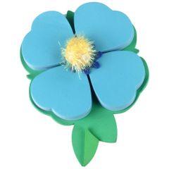 Notes-adeziv-Thinking-gift-petale-albastru