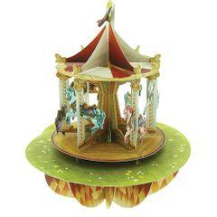Felicitare-3D-Pirouettes-carusel