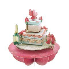 Felicitare-3D-Pirouettes-tort