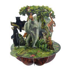 Felicitare-3D-Pirouettes-cartea-junglei