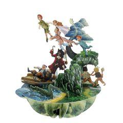Felicitare-3D-Pirouettes-Peter-Pan