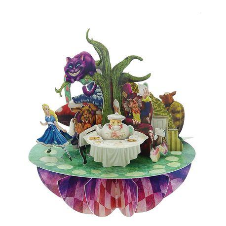 Felicitare-3D-Pirouettes-Alice-in-tara-minunilor