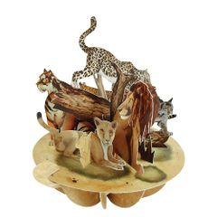 Felicitare-3D-Pirouettes-feline