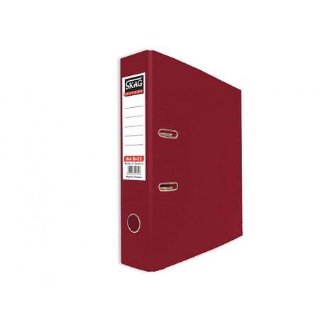 Biblioraft-PP-Skag-A4-8-cm-grena