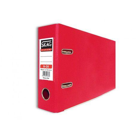 Biblioraft-PP-Skag-A5-8-cm-rosu
